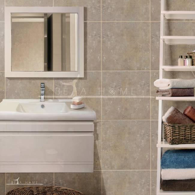 Luxury bathroom with Beni light brown tiles
