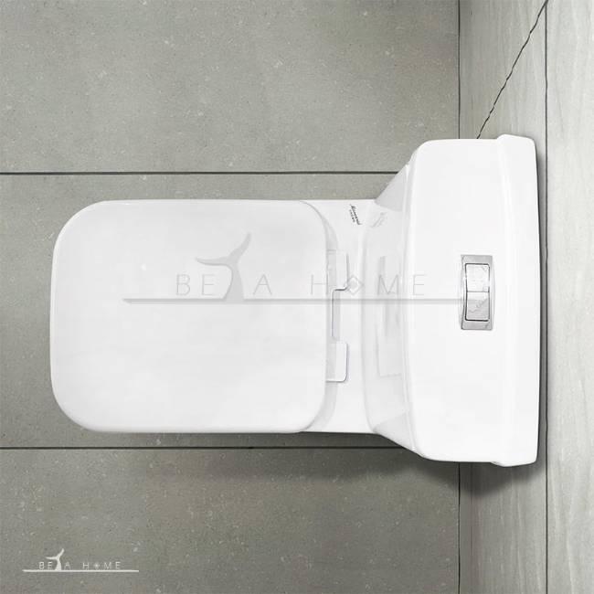 Morvarid crown toilet top view