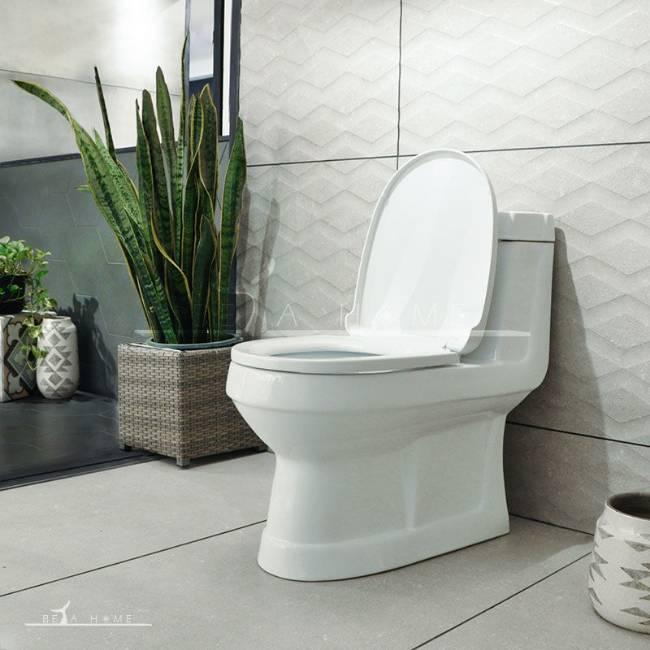 Morvarid toilet valentina with open seat