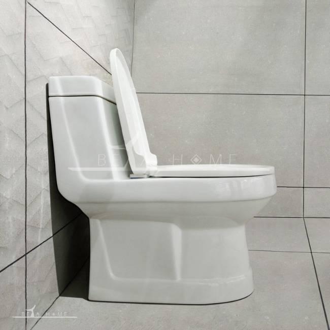 Morvarid toilet valentina side view open seat