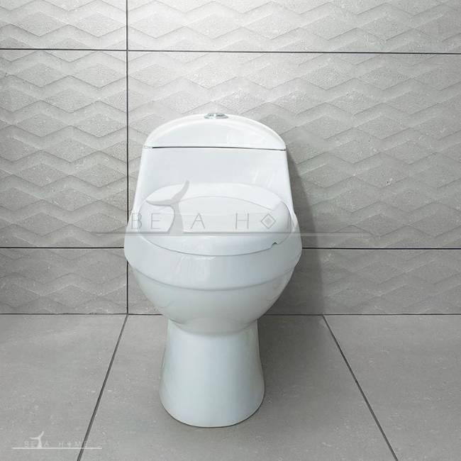 Elegant morvarid toilet front view