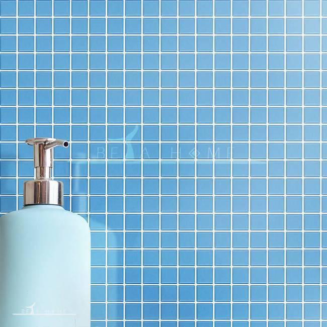 Artema ceramic light blue mosaic porcelain tiles