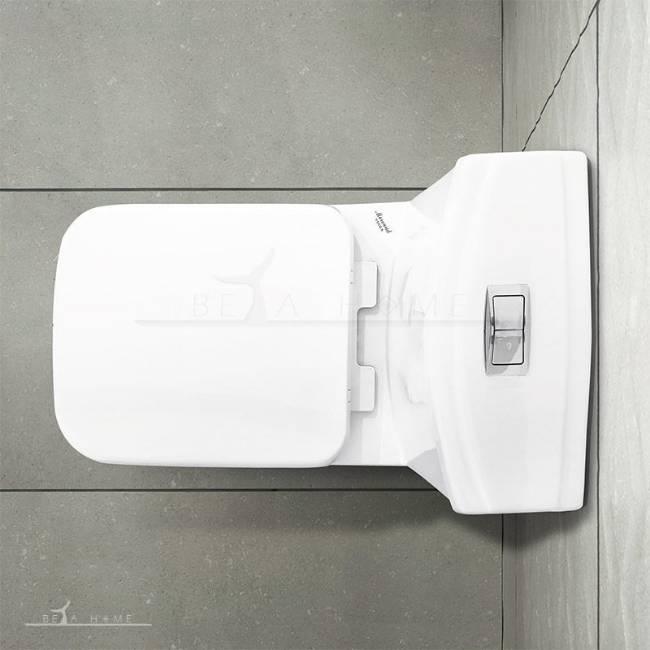 Morvarid sanitary Volga modern toilet top view