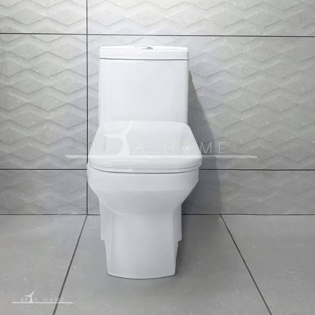 Morvarid sanitary yaris toilet front view