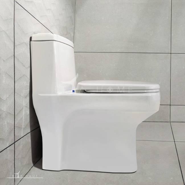 Morvarid sanitary Volga modern toilet side view
