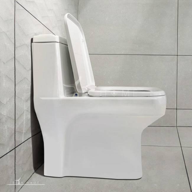 Morvarid sanitary Volga modern toilet side open