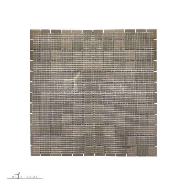 Mosaics on easy mount fibrenet mesh