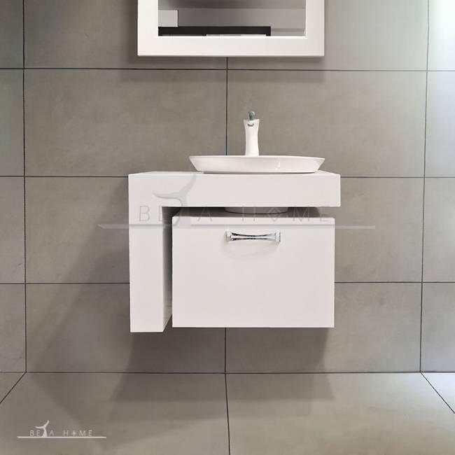 Betahome Oriental Floating Bathroom, Oriental Bathroom Vanity