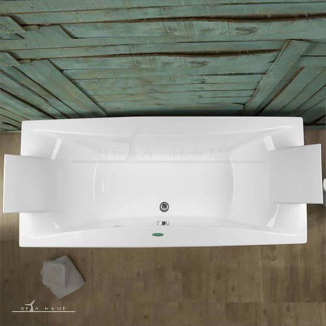 Ramana straight standard bath top view