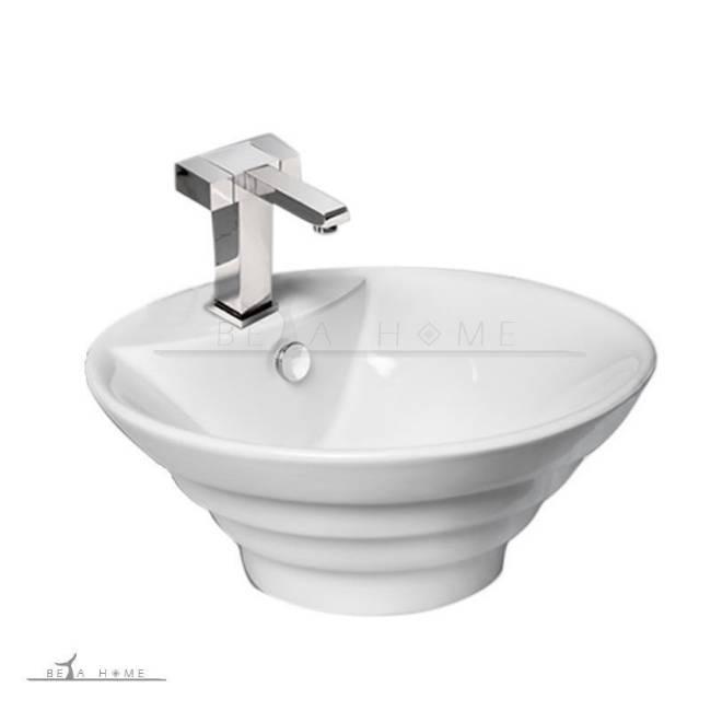Oriental designer bathroom sink counter top