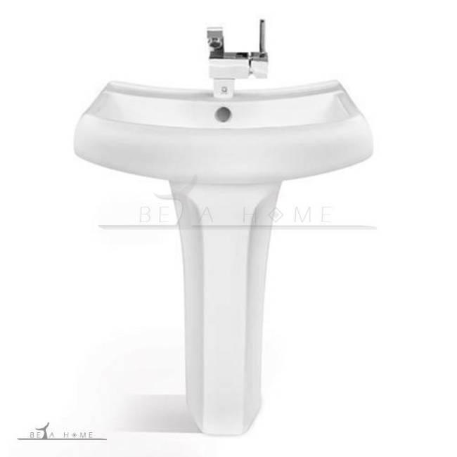 Katia pedestal bathroom sink