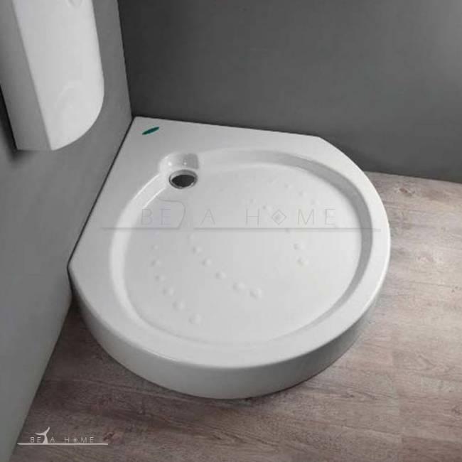 Nila round shower tray