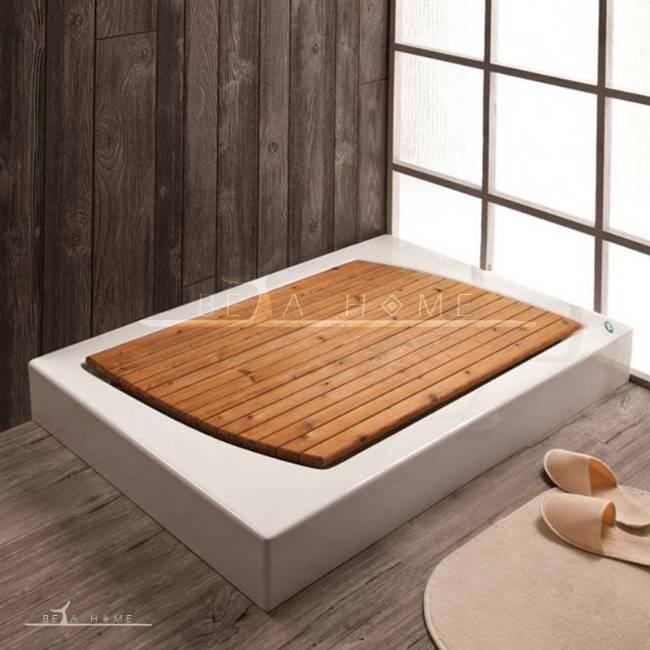 Sertina ABS-acrylic shower tray with thermo-wood کفی چوبی