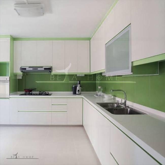 goldis tile island green tile