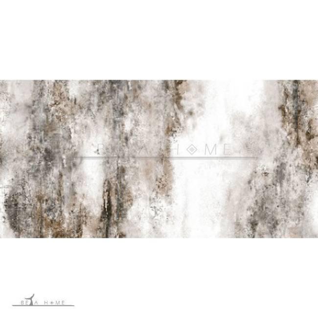 Diora brown and white designer tile