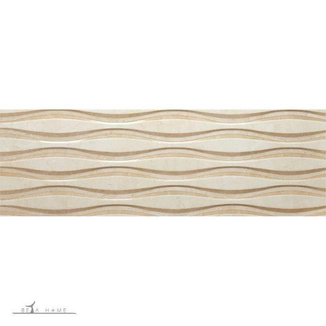 Crema natural polished wall tiles