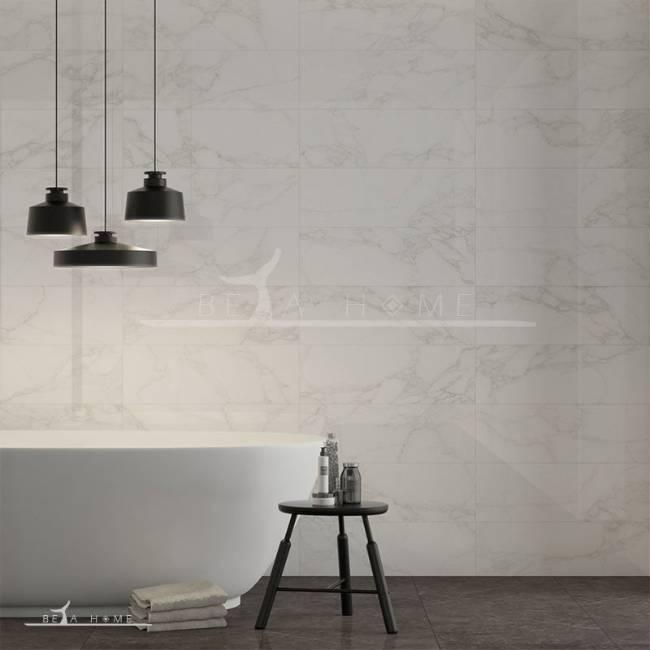 argenta statuario marble wall tile