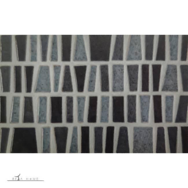 argenta cairo blue mosaic effect tile
