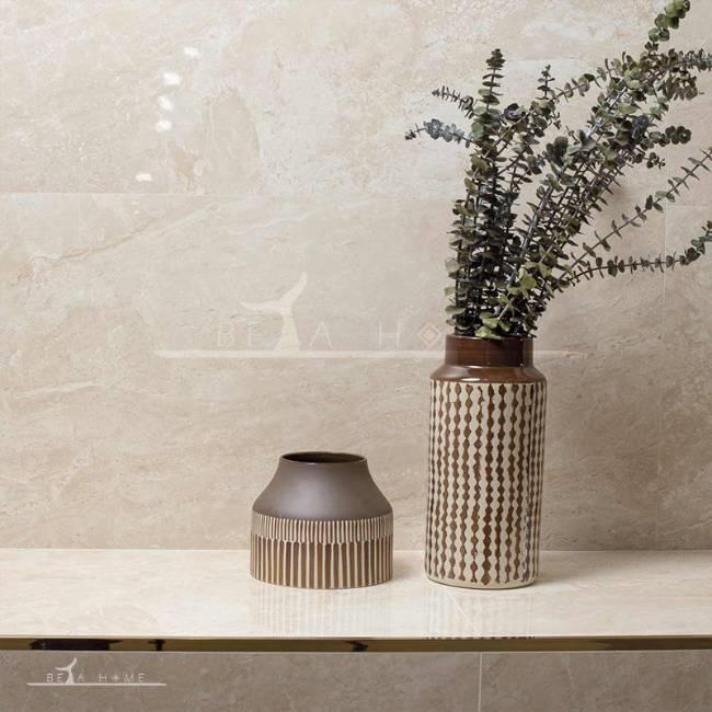 Goldis adonis cream stone effect tiles