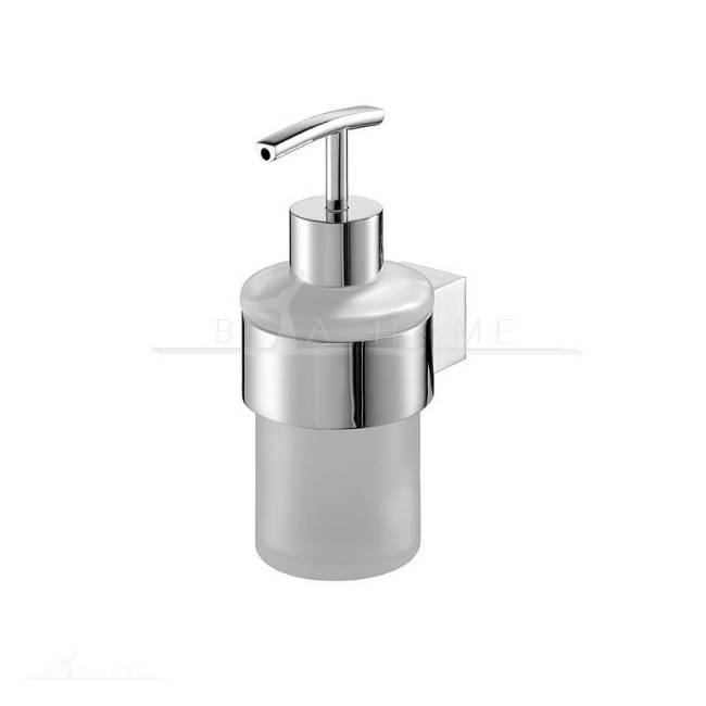 Bisk chrome wall mount soap dispenser