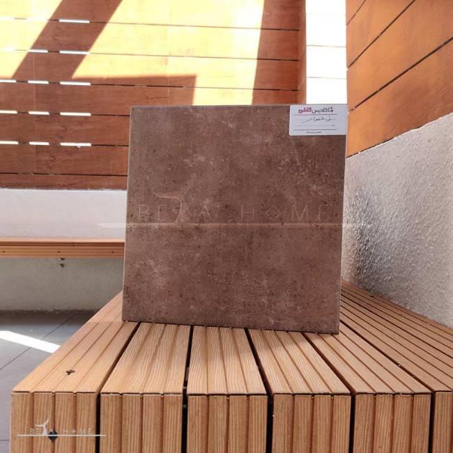 Goldis beni dark brown tile