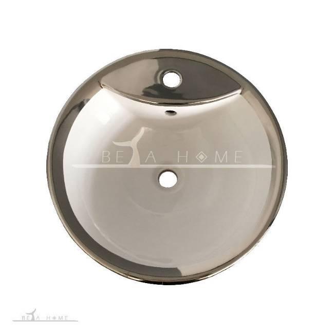 Morvarid oriental silver sink top