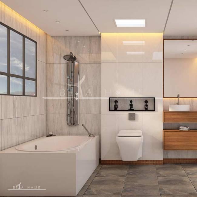 Isatis grey polished tiles