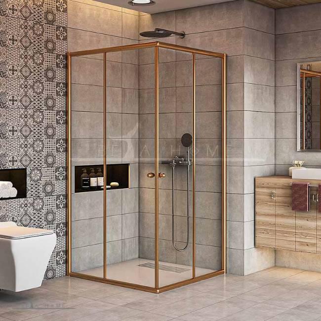 Ariana APR gold shower enclosure
