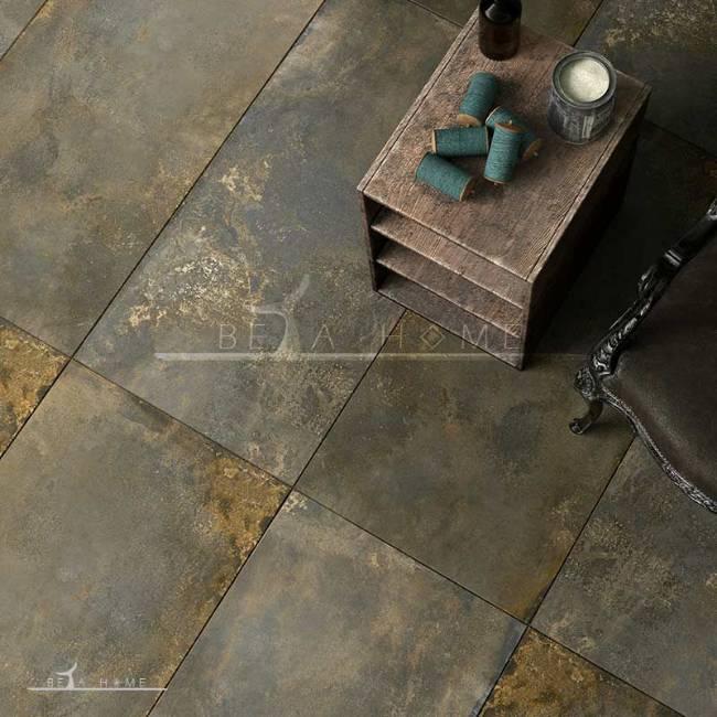 Goldis tile metal design