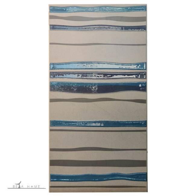 Modena wave decor tiles